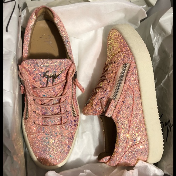 a3332b35cca54 Giuseppe Zanotti Shoes   Giuseppe Zanoticheryl Glitter Sneakers W ...
